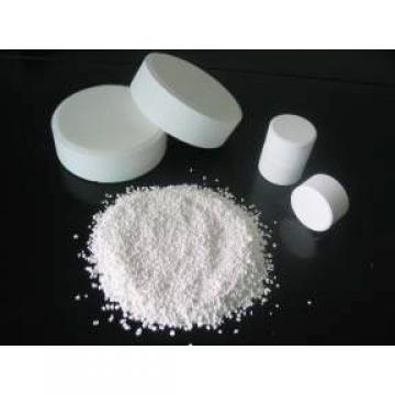 Trichloroisocyanuric Acid (TCCA) 90% Available Chlorine Sanitizer, Pool Water Treatment Chemical