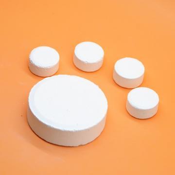 TCCA, Trichloroisocyanuric Acid. CAS No.: 87-90-1